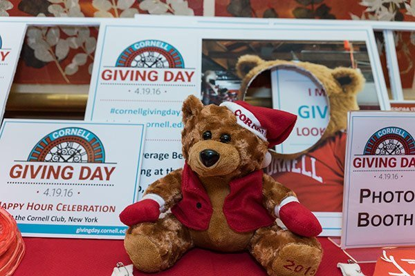 Giving Day at the Cornell Club, New York