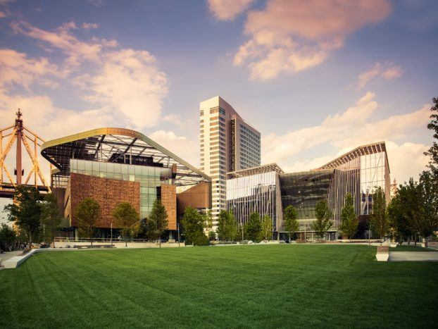 Exterior view of Cornell Tech campus