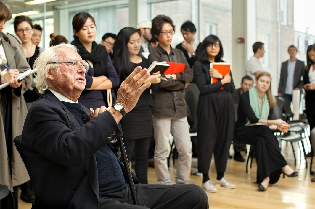 Architect Richard Meier '56