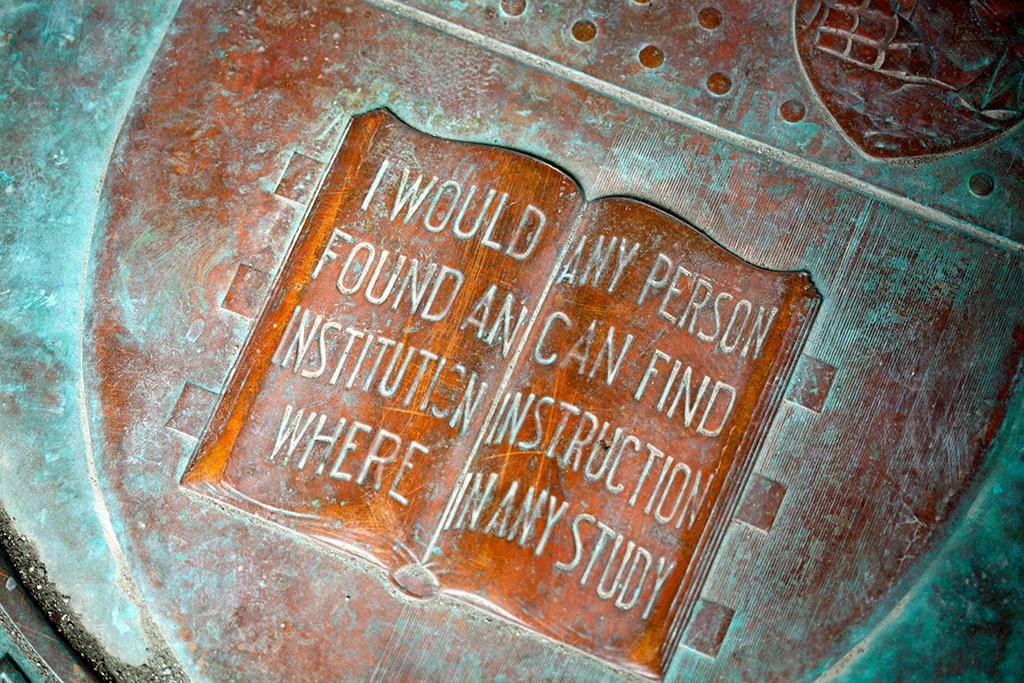 Cornell motto