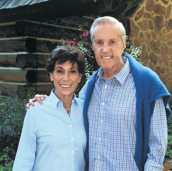 Judy and Fred Wilpon