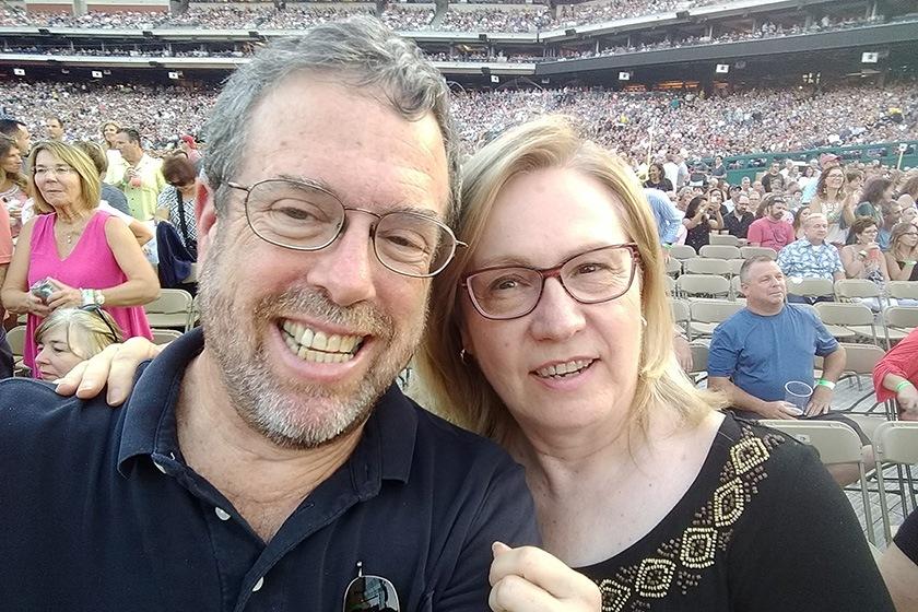 Larry Epstein '76, MBA '78 and Karen Hasby Epstein '77