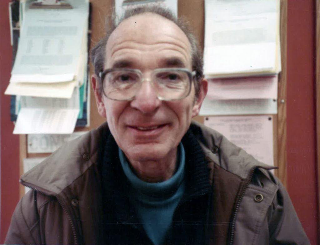 Professor Frank Spitzer