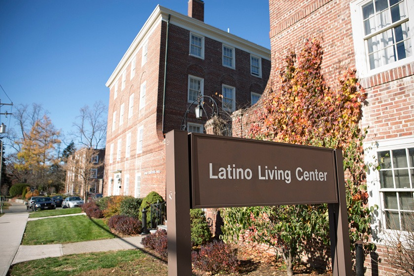 Exterior of the Latino Living Center