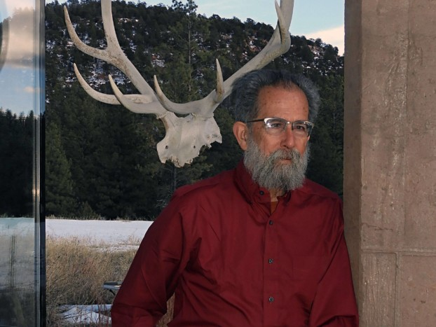 David Strip at his home in the New Mexico mountains.