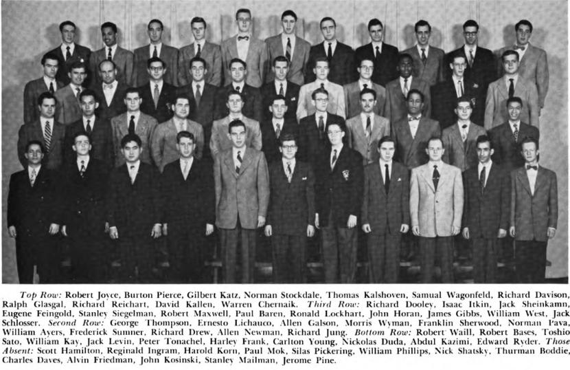 1951 photograph of members of Watermargin