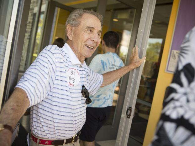 Bill Kay on North Campus