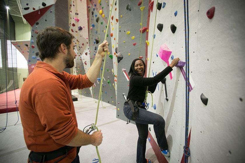 Lindseth Climbing Center