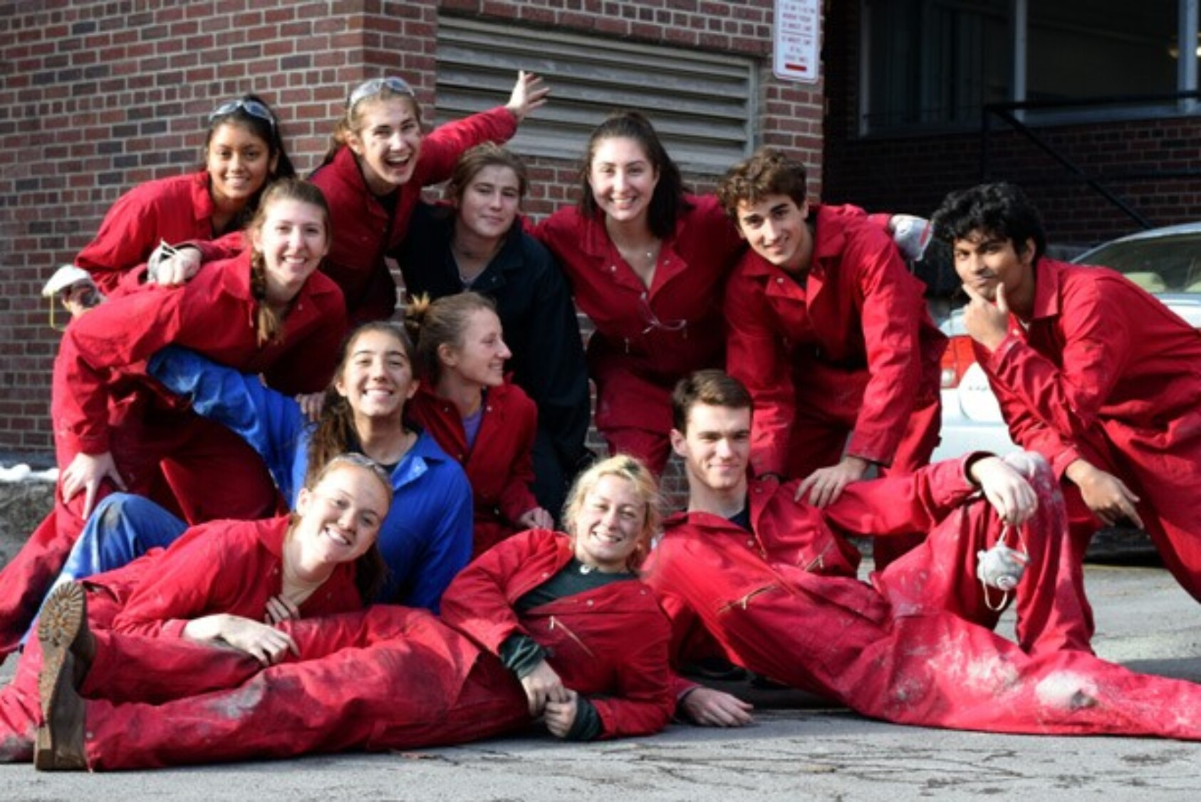 Cornell Concrete Canoe team members