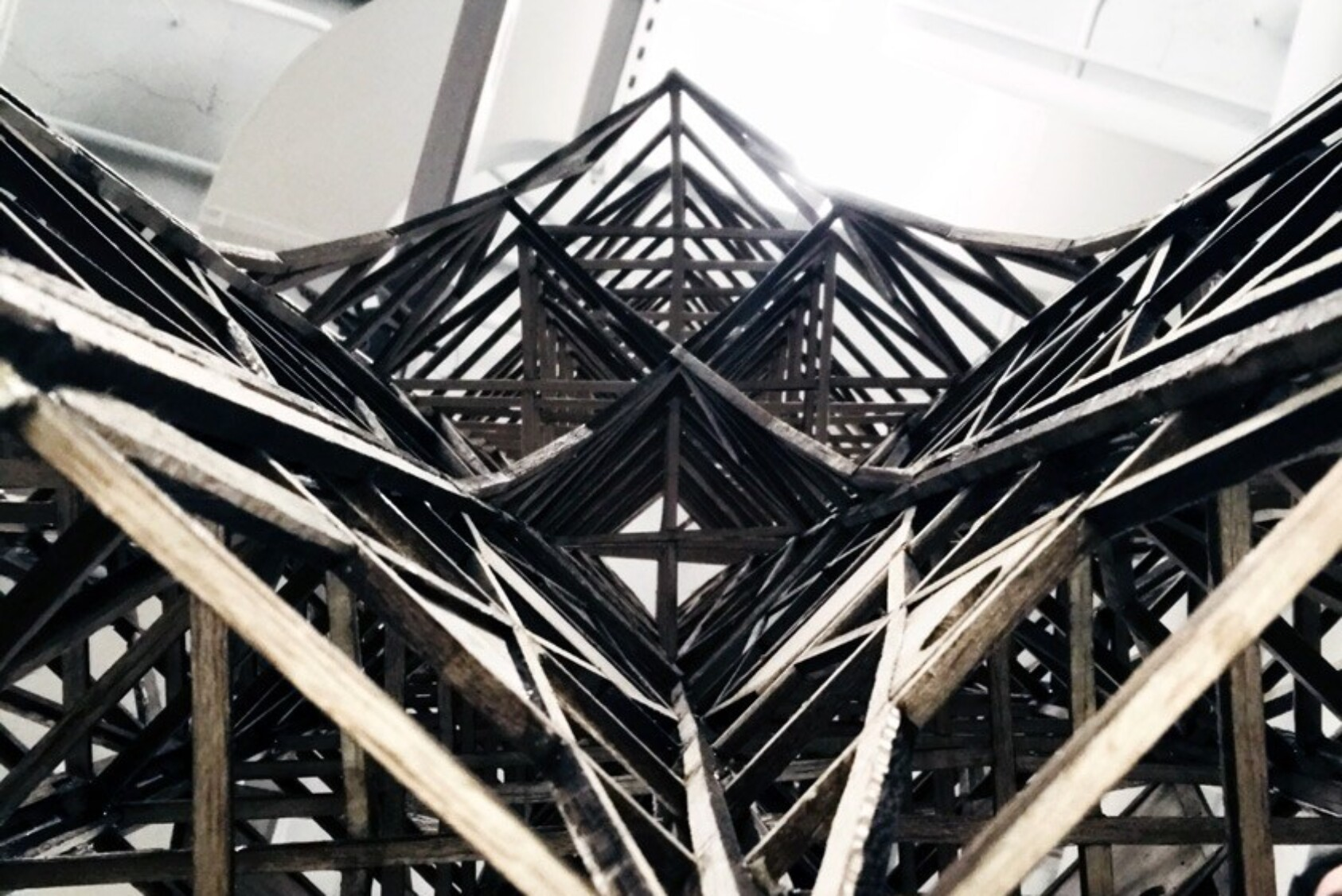 Structure built by Cornell Seismic Design team members