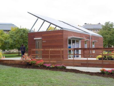 The 2005 Solar House on the Agriculture and Life Sciences Quad.