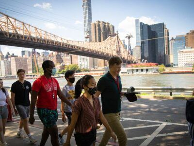 NYC summer shapes Milstein students' thoughts about future.